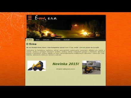 www.e-one.sk