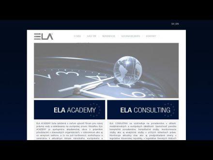 www.ela-europe.sk