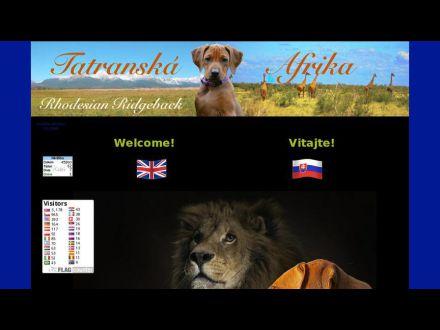 www.tatranskaafrika.sk