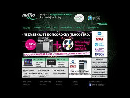 www.ikaro.sk