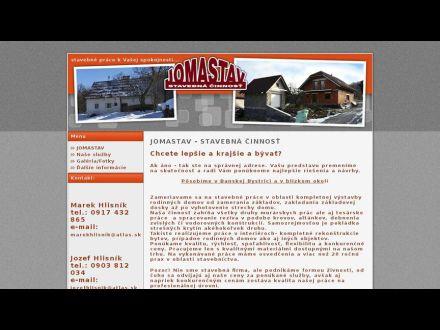 www.jomastav.sk