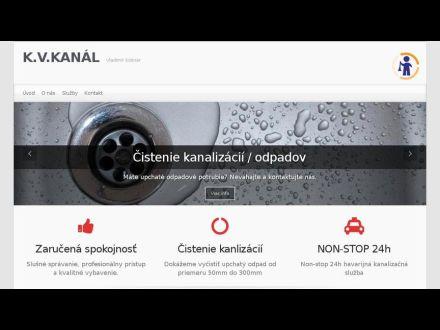 www.kvkanal.sk
