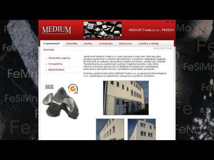 www.mediumtrade.sk
