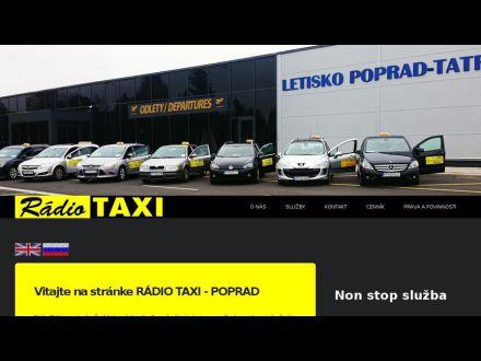 www.radiotaxi-poprad.sk
