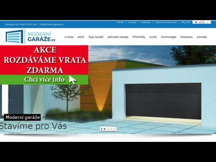www.modernigaraze.cz