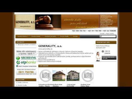 www.generality.sk