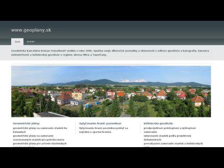 www.geoplany.sk