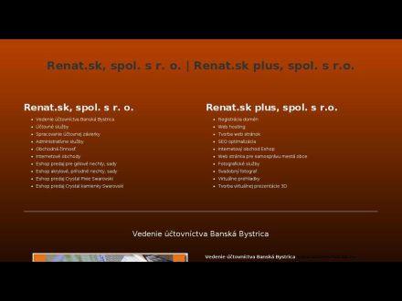 www.renat.sk