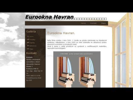 www.eurooknahavran.sk