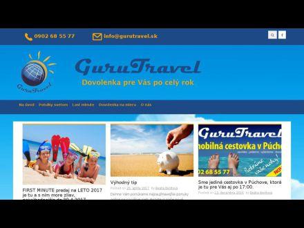 www.gurutravel.sk