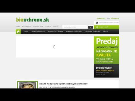 www.bioochrana.sk