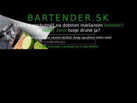 www.bartender.sk