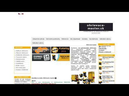 www.ohrievace-master.sk