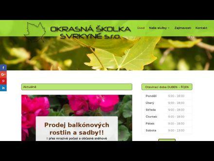 www.zahradnictvisvrkyne.cz