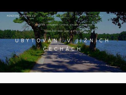 www.penzion-lutova.cz