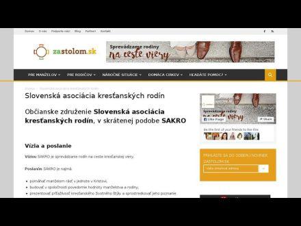 zastolom.sk/slovenska-asociacia-krestanskych-rodin