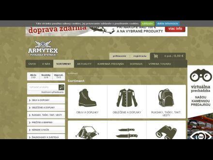 www.armytex.sk