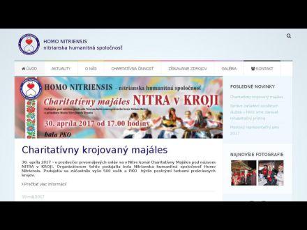 www.homonitriensis.sk