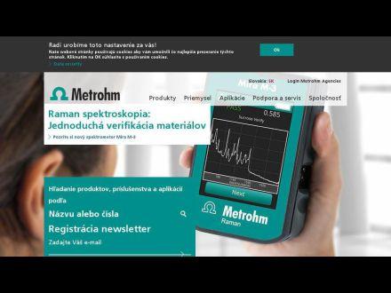 www.metrohm.sk