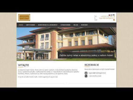 www.hotellegend.sk