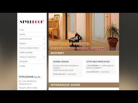 www.styledoor.webnode.sk