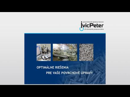 www.ivicpeter.sk