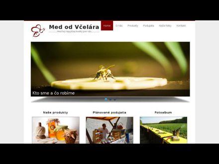 www.medodvcelara.sk