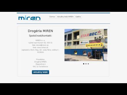 www.miren.sk