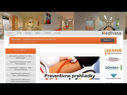 www.medivasa.sk