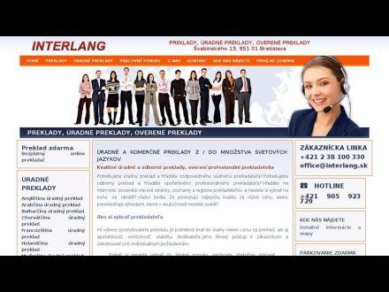 www.interlang.sk