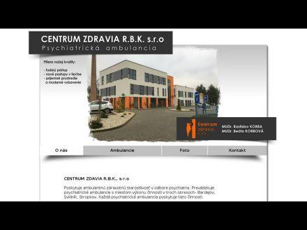 www.centrumzdravia-rbk.sk/index.html