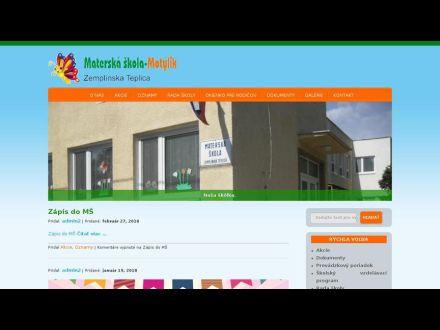 www.ms-motylik.sk