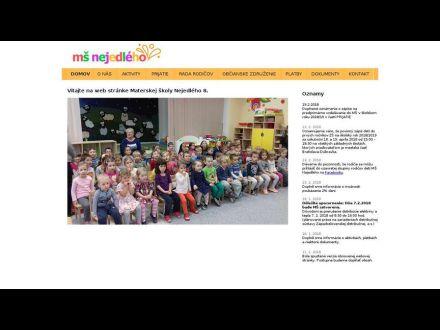 www.ms-nejedleho.sk