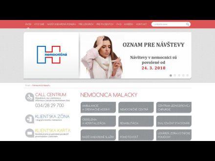 www.nemocnicamalacky.sk
