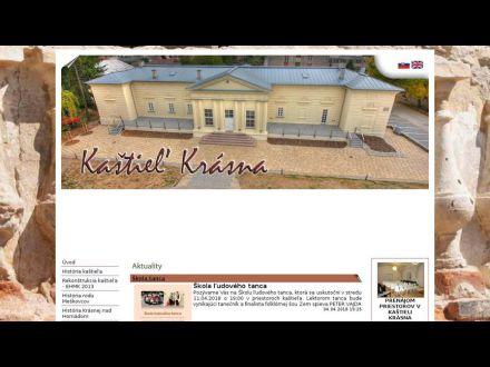 www.kastielkrasna.sk