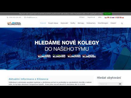 www.klinovec.cz