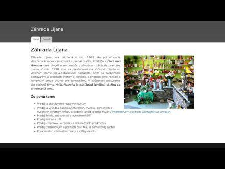 www.lijana.sk