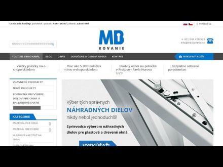 www.mb-kovanie.sk