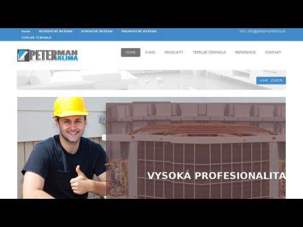 www.petermanklima.sk