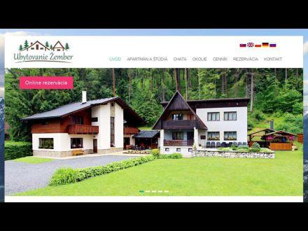 www.ubytovaniezember.sk