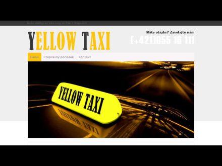 www.yellowtaxikosice.sk