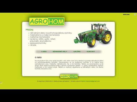 www.agrohom.szm.sk