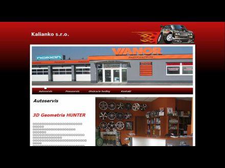 www.autoservis.kalianko.sk