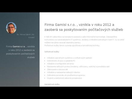 www.gamisi.sk