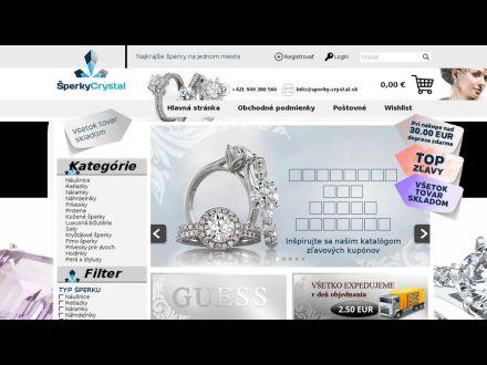 www.sperky-crystal.sk