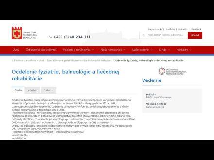www.unb.sk/oddelenie-fyziatrie-balneologie-a-liecebnej-rehabilitacie/