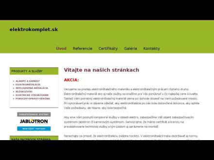 www.elektrokomplet.sk