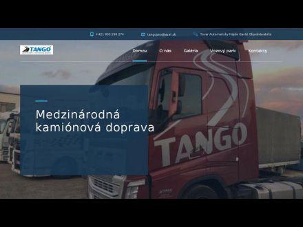 www.tangotransport.sk