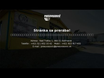 www.pneuvosovic.sk