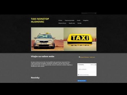 www.taxihlohovec.sk